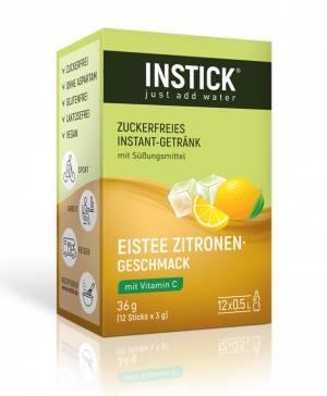 INSTICK Eistee Zitrone 12-er Packung (für 12 x 0,5 L)
