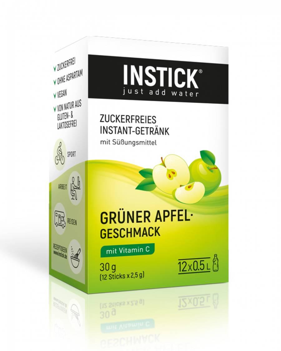INSTICK Grüner Apfel 12-er Packung (für 12 x 0,5 L)