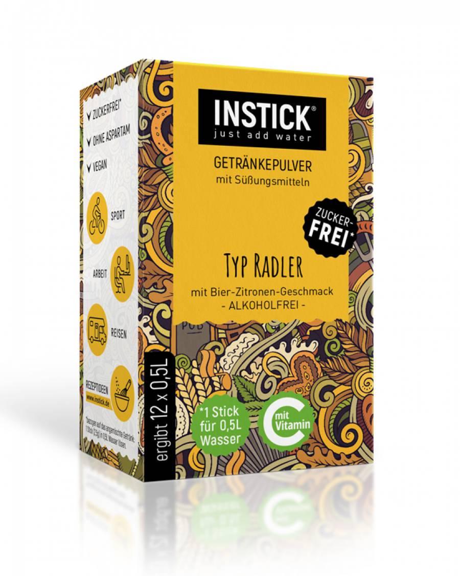INSTICK Radler 12-er Packung (für 12 x 0,5 L)
