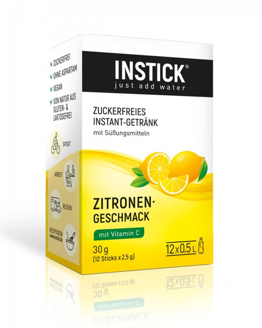 INSTICK Zitrone 12-er Packung (für 12 x 0,5 L)